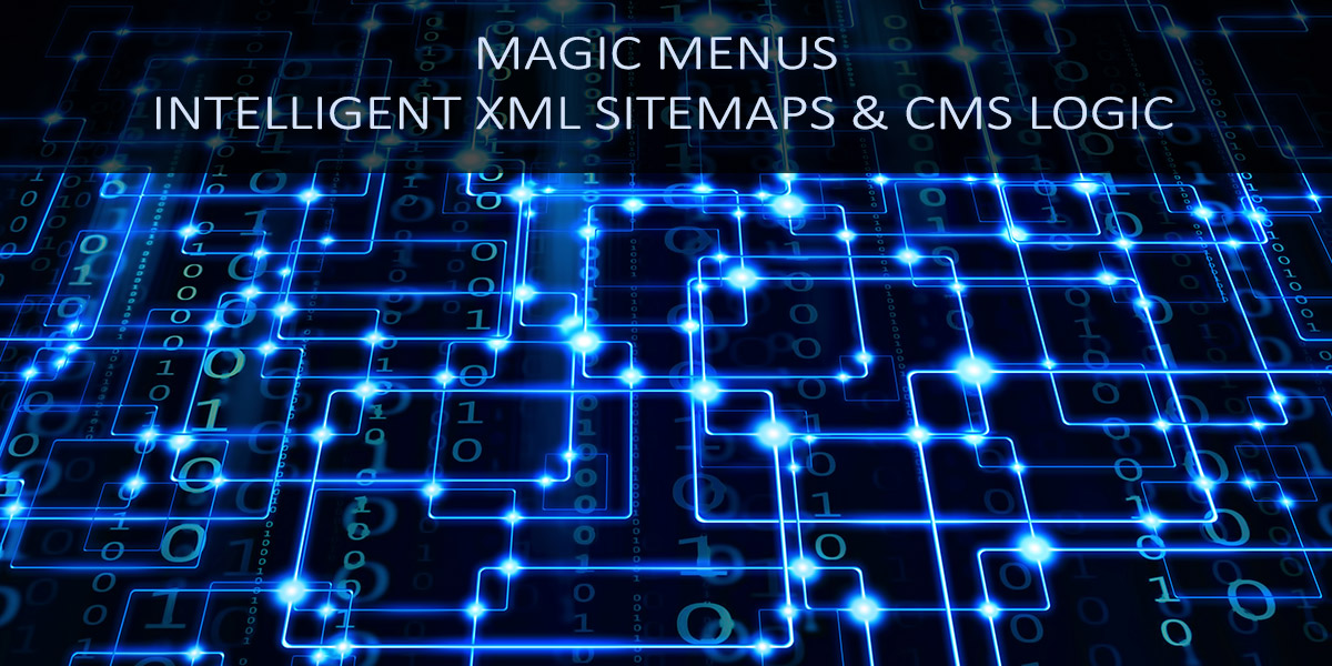 magic menus intelligent xml sitemaps cms logic angel theory s m