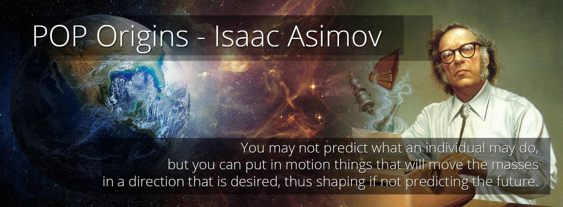 pop origins - isaac asimov - an economic theory of everything
