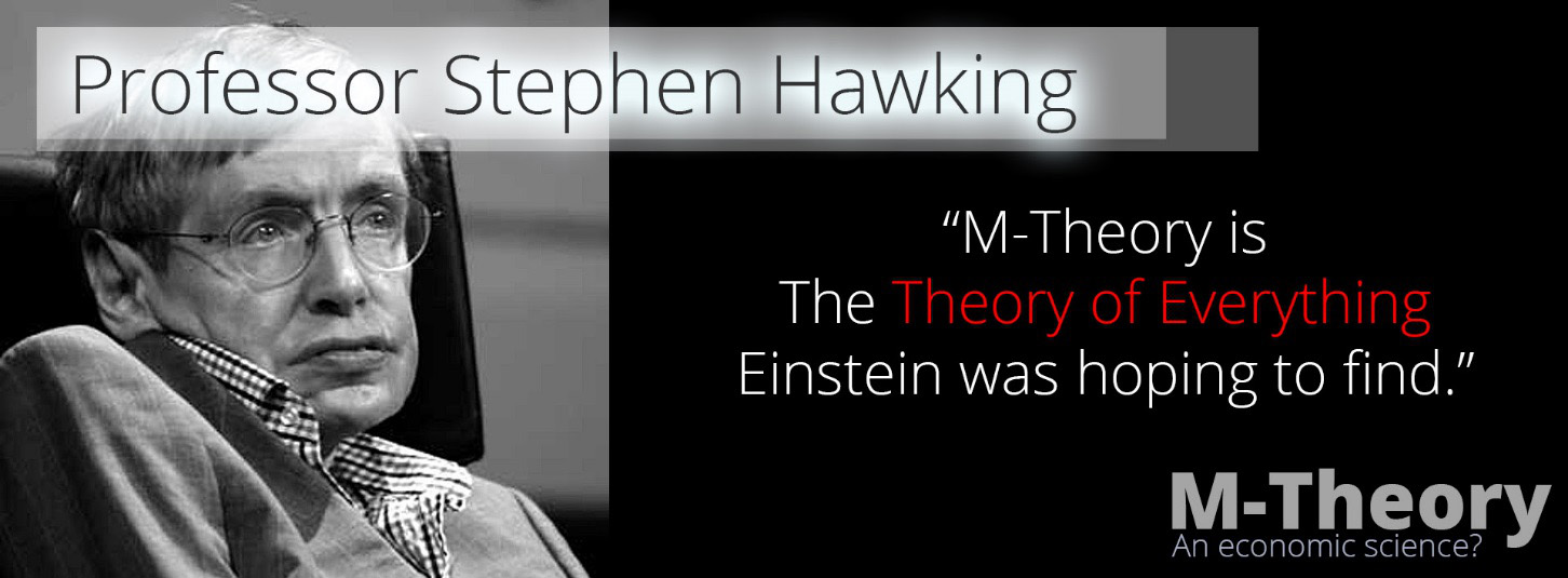 professor stephen hawking - the economic theory of everything