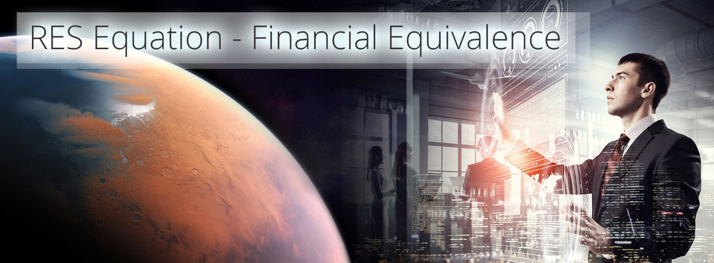 res equation - financial equivalence - an economic theory of everything