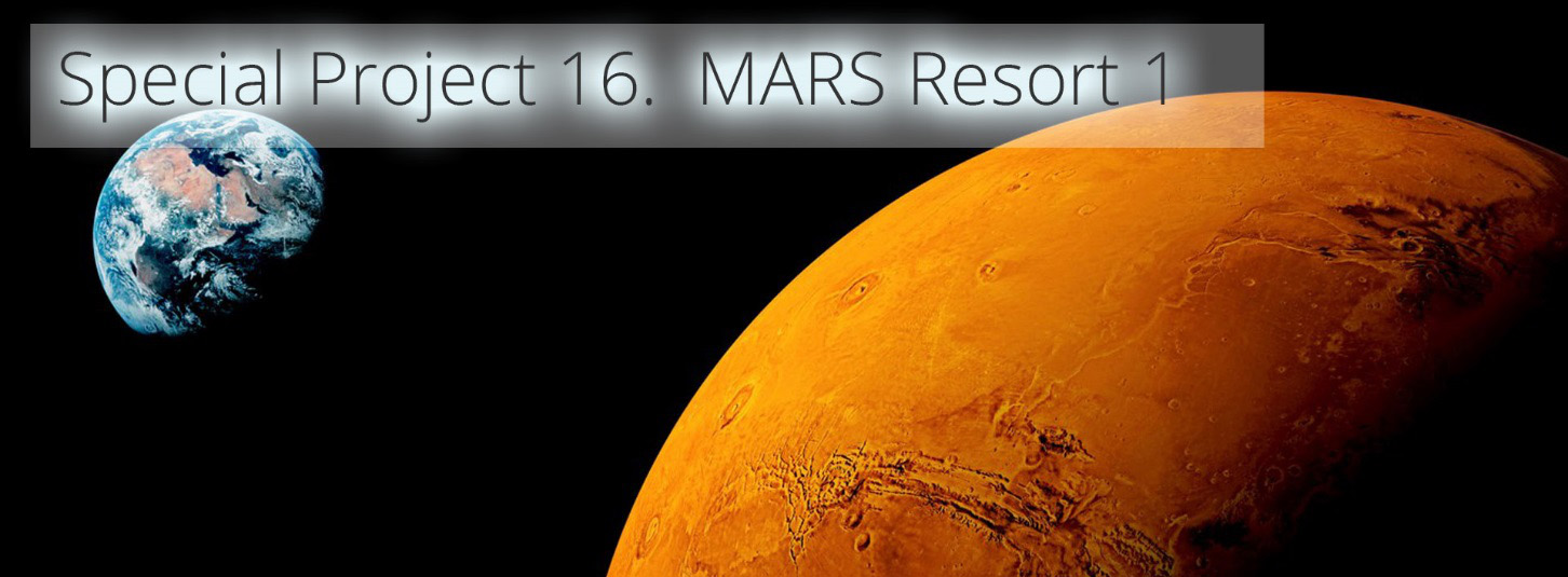 special project - mars resort