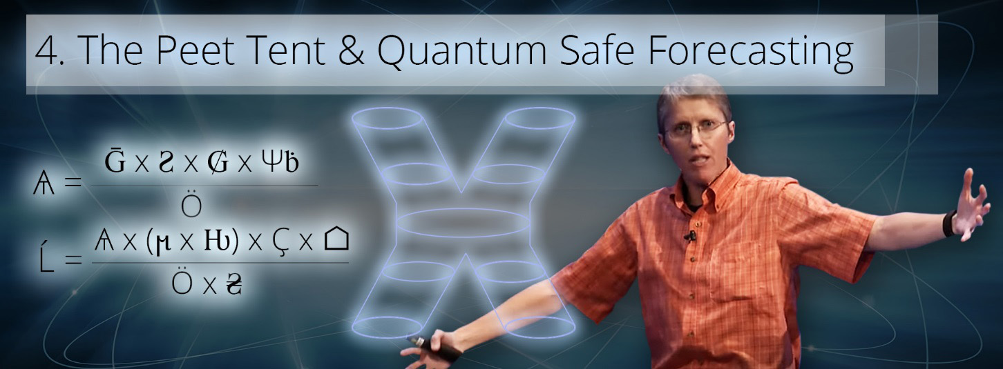 the peet tent & quantum safe forecasting - the theory of everything