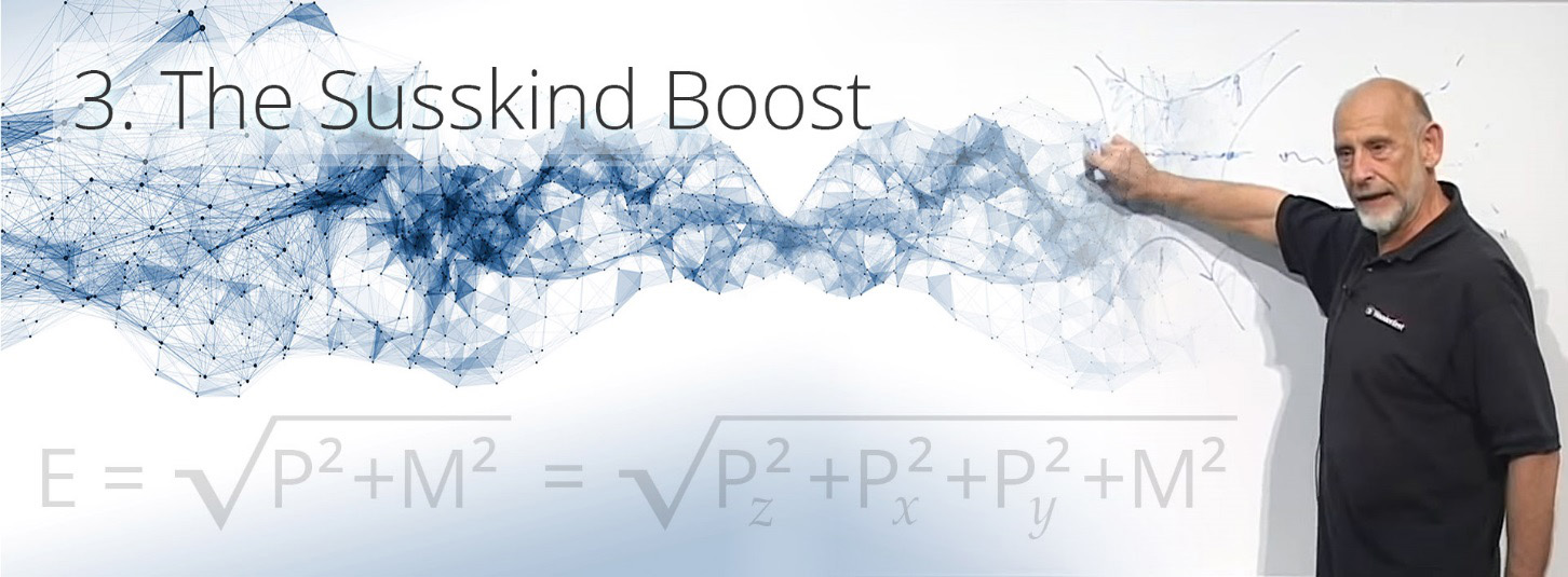 the susskind boost - the theory of everything