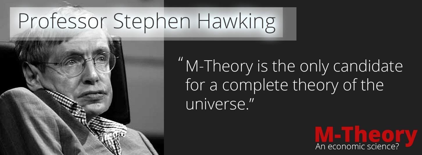 Professor Stephen Hawking - M-Theory an Ecnomic Science - part 2