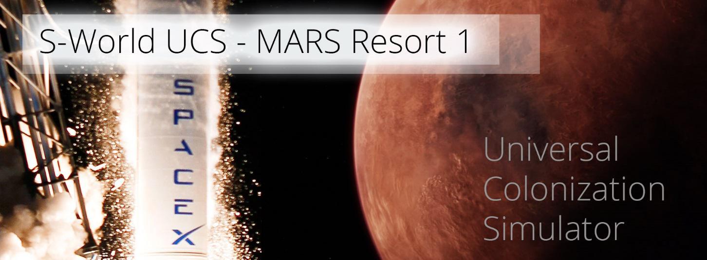 S-World UCS - Mars Resort 1